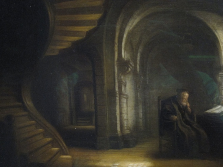The philosopher and the staircase